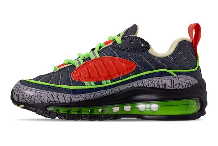Nike Air Max 98 Halloween Ct1171 001 Medial