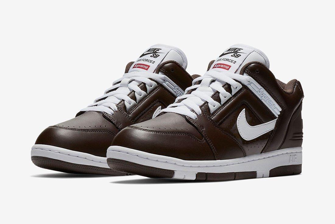 Supreme X Nike Air Force 2 4 1