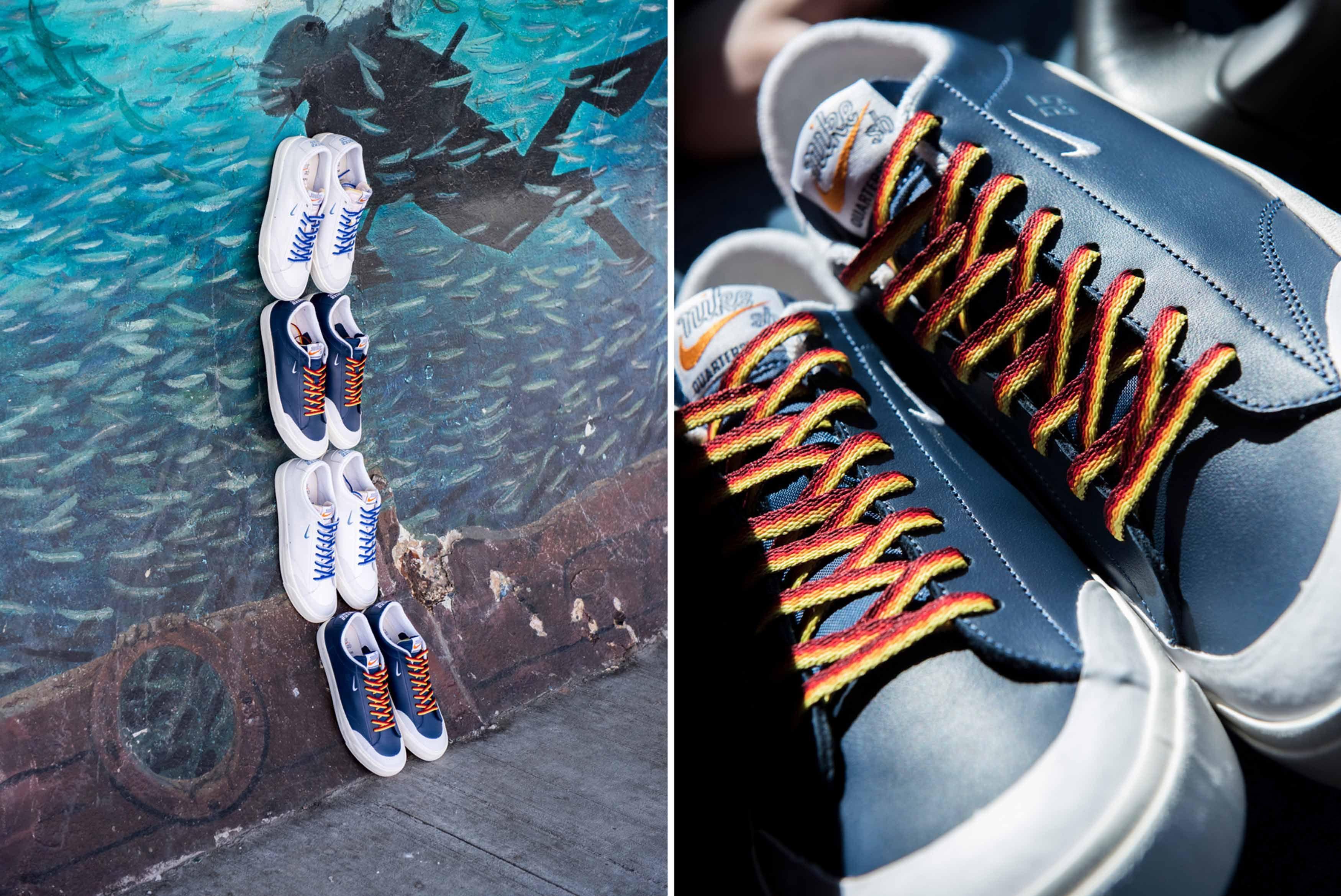 Quartersnacks Nike Sb Blazer Low Xt Release Date 0101
