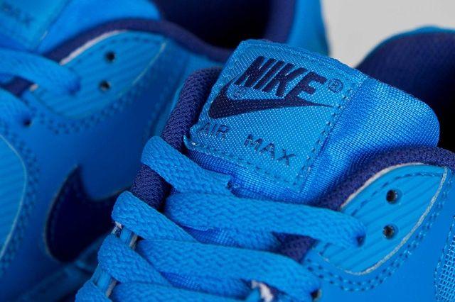 Nike Air Max 90 Gs Photo Blue 4
