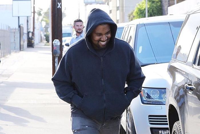 Kanye Hits La In New Yeezy Wave Runner 2
