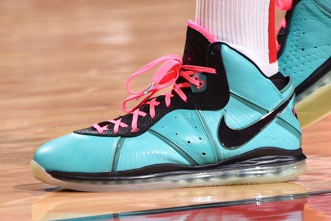 Nike Lebron 8 South Beach Left