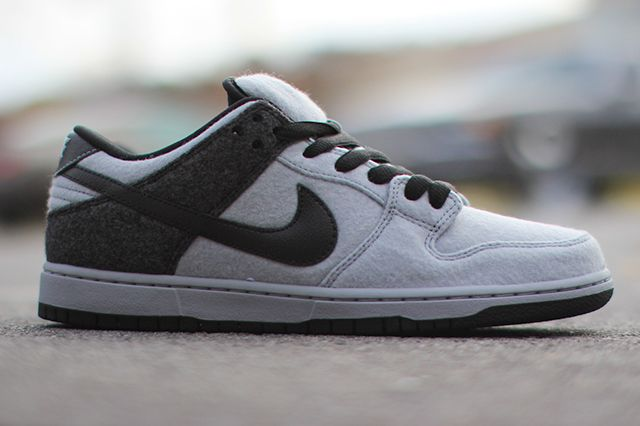 Nike Dunk Low Prm Sb Wolf Grey Wool 3