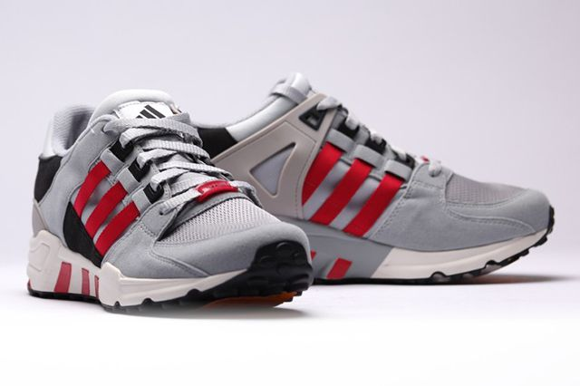 Adidas Equipment Running S Core Black Chalkwhite Scarlet 3