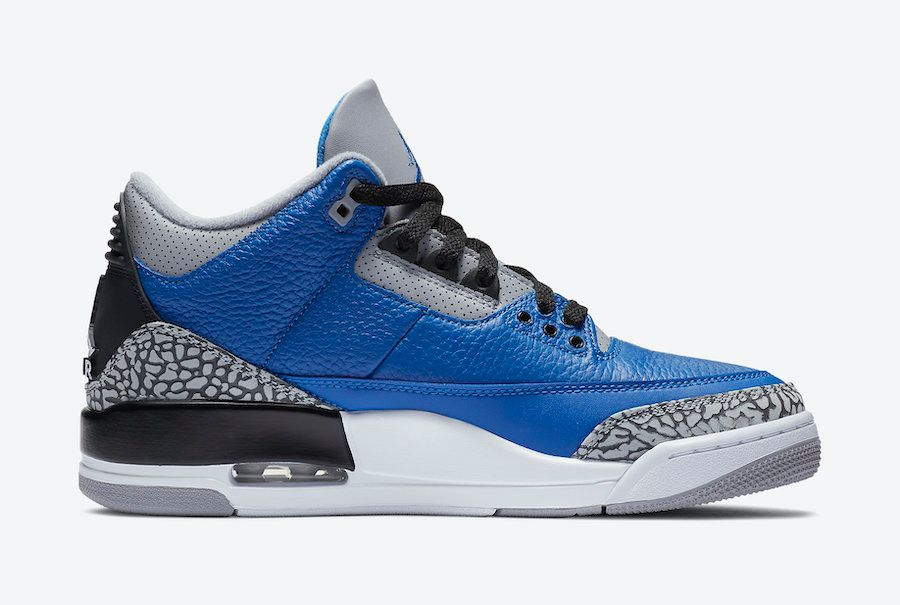 Air Jordan 3 Varsity Royal Left