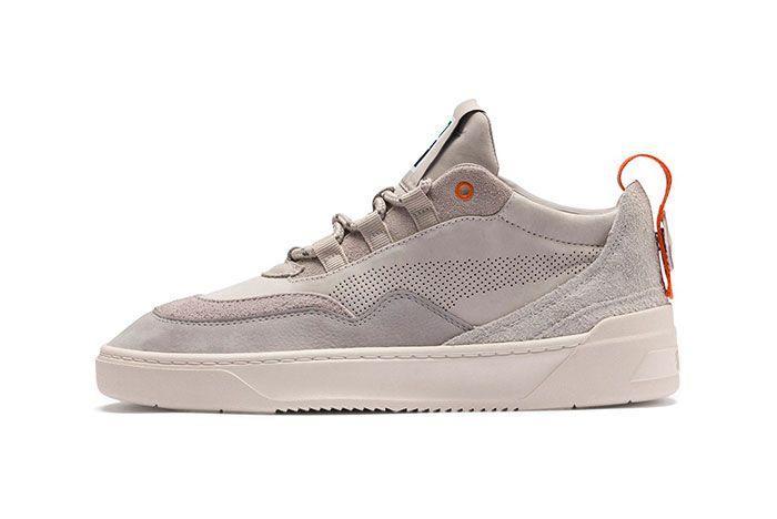 Puma Cali Zero Demi Midtop Sneakers Black Green Grey 1