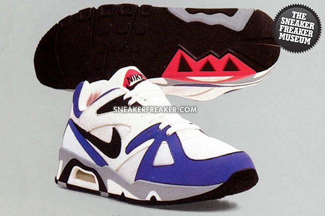 Nike Air Structure 1991 White Persian Violet 1