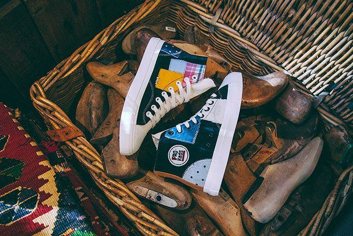 Footpatrol Pro Keds Royal Hi Patchwork 9