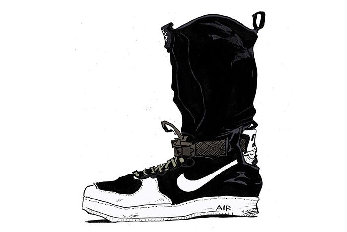 Acronym X Nike Air Force 1 Downtown3