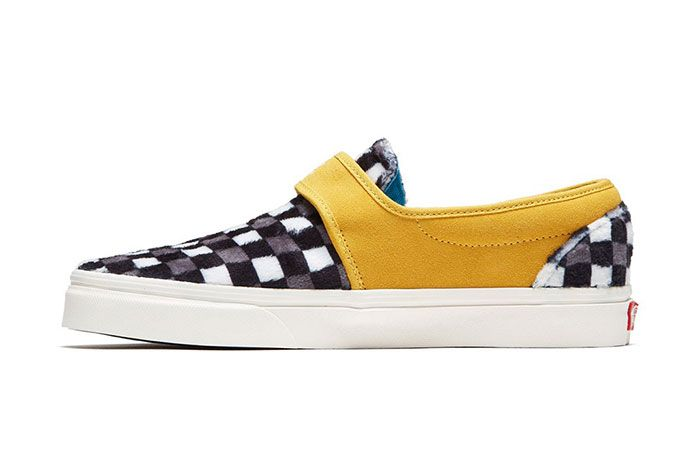 David Bowie Vans Collaboration Capsule Collection Slip Left