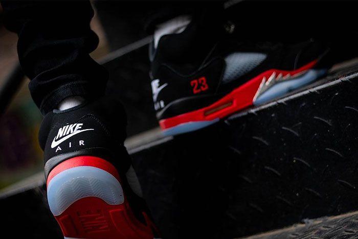 Air Jordan 5 Top 3 Cz1786 001 On Feet Release Date 8 Leak