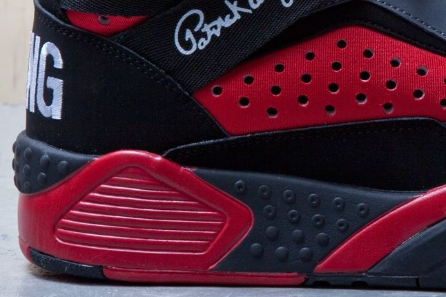 Ewing Focus Black Red Heel 1