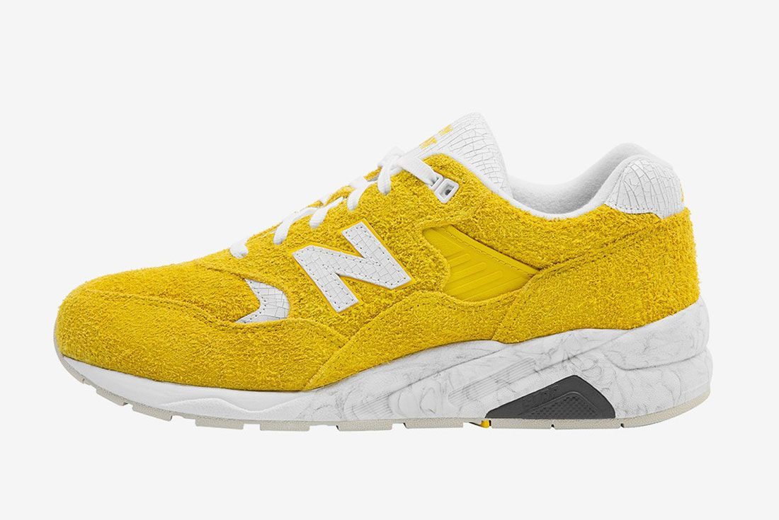 Randomevent X New Balance 580 Yellow 1 Side