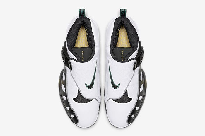 Nike Zoom Gp 2019 Retro White Black Ar4342 100 Release Date Top Down