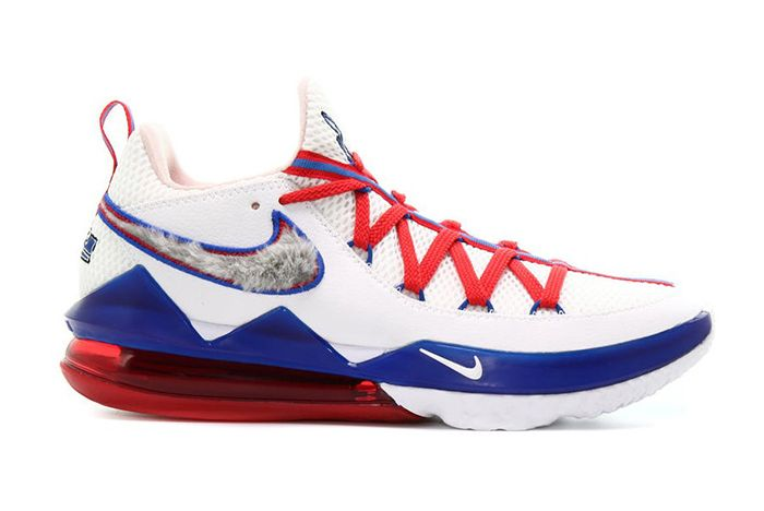 Nike Le Bron Low 17 Tune Squad Lateral Side