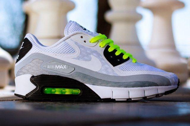 Nike Air Max 90 Breeze Black Volt 1