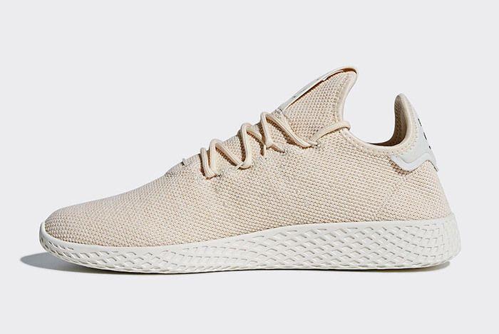 Pharrell Tennis Hu Linen Sneaker Freaker 1