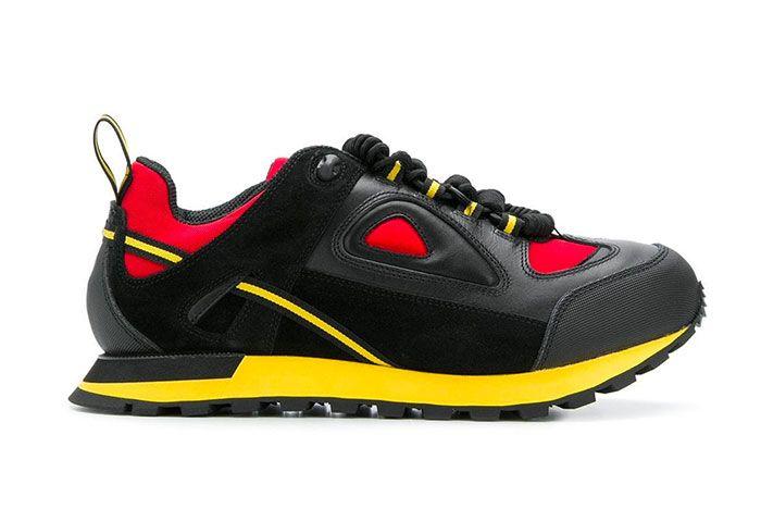 Maison Margiela Twist Up Lace Sneakers Black Yellow Red Release 001 Sneaker Freaker