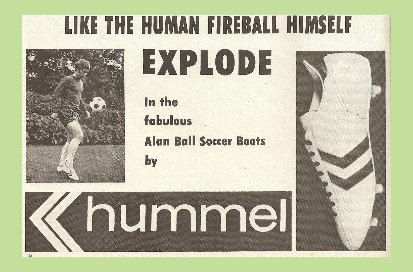 Material Matters Football Alan Ball Hummel 2 1