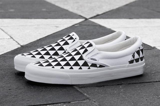 Sneakersnstuff X Vault By Vans Og Classic Slip On Lx Stockholm 2