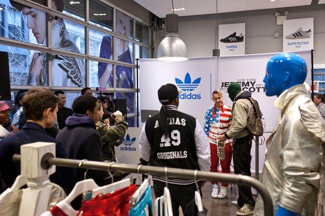 Jeremy Scott In Store Adidas Originals Soho New York 47 1