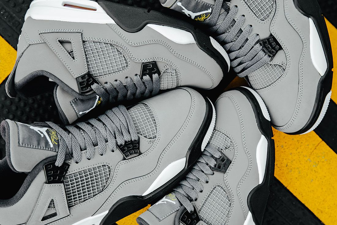 Air Jordan 4 Cool Grey Family Sizes