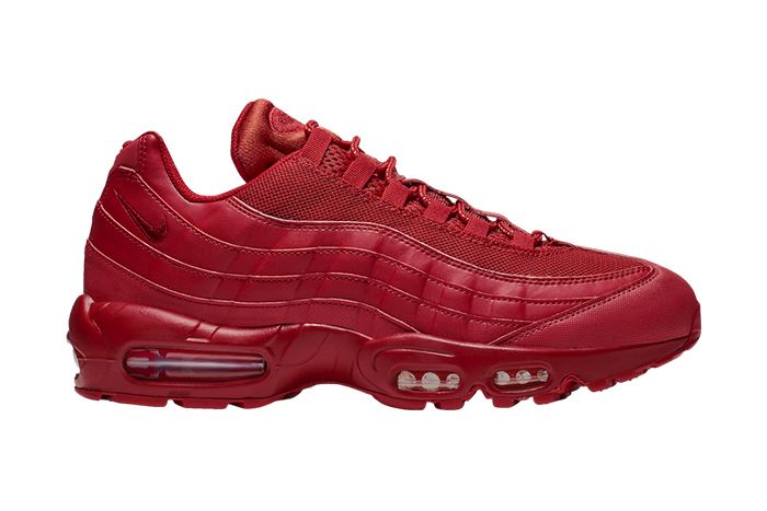 Nike Air Max 95 Triple Red Bq9969 600 Release Date Lateral