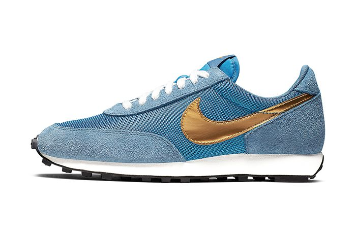 Nike Daybreak Sp Blue Gold Bv7725 400 Release Date Lateral
