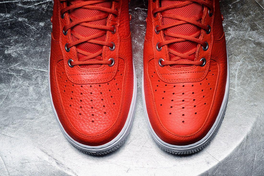 Nike Sf Air Force 1 Orange 2
