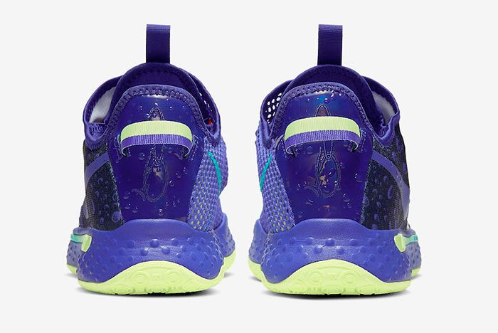 Nike Pg 4 Gatorade Purple Release Date 5Official