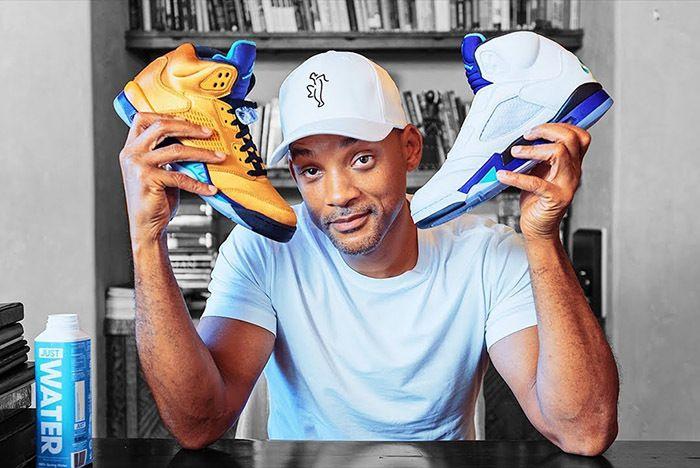 Will Smith Air Jordan 5 Fresh Prince Unboxing 1