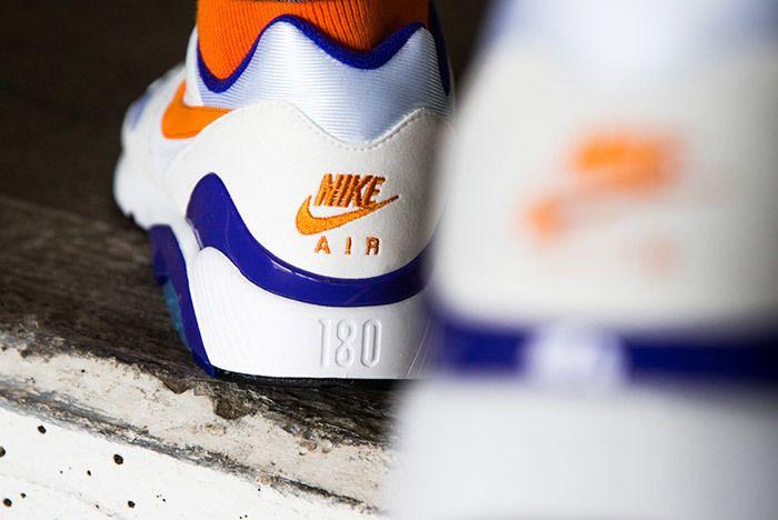 Nike Air Max 180 Bright Ceramic On Feet 1