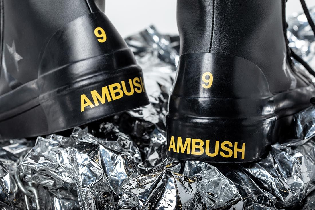 Converse X Ambush Black Heel