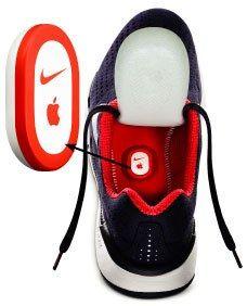 Nike Plus Ipod Nano Shoes Top View