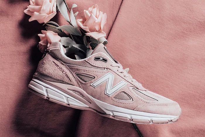 New Balance 990 V4 Faded Rose Pink 4