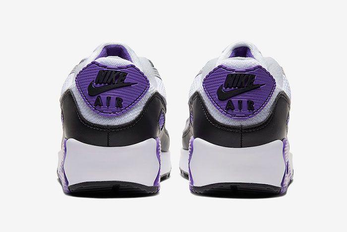 Nike Air Max 90 Hyper Grape Cd0490 103 Heel