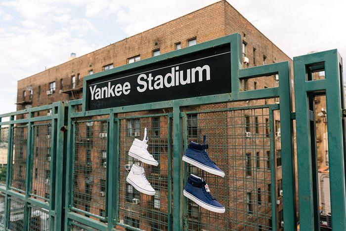 The General X Mlb Yankees X Vans3
