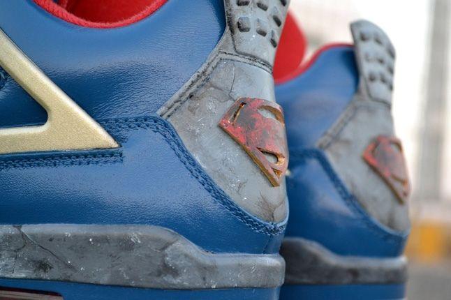 Air Jordan Iv Custom Jumpman Of Steel Heel Detail 1