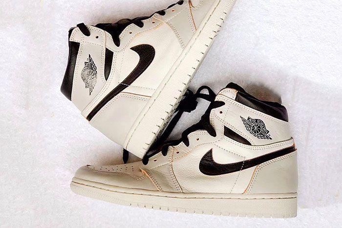 Air Jordan 1 Nike Sb White Black Grey 3