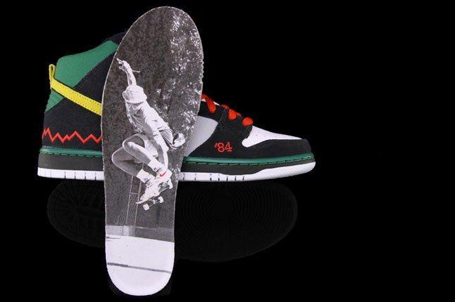 Nike Dunk High Mcrad Insole 1