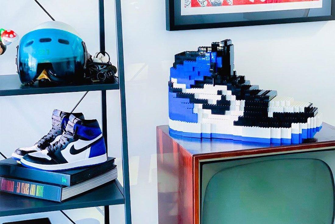 Tomyoo Lego Air Jordan 1 Fragment