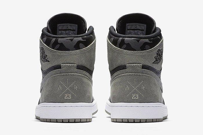 Air Jordan 1 Camo Reflective Grey 3