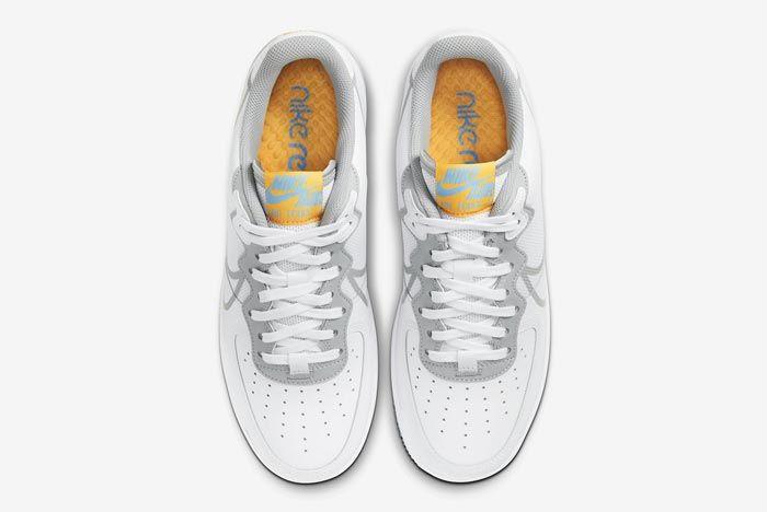 Nike Air Force 1 React Uni Gold Top