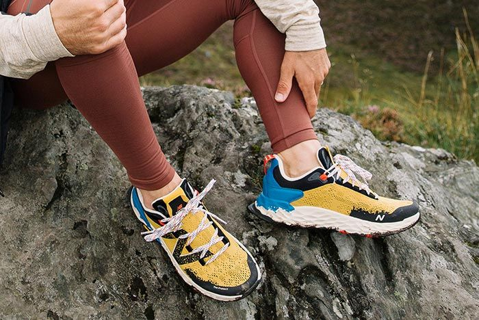 New Balance 850 All Terrain Yellow On Foot