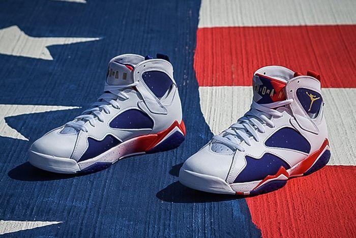 Air Jordan 7 Olympic Alternatefeature