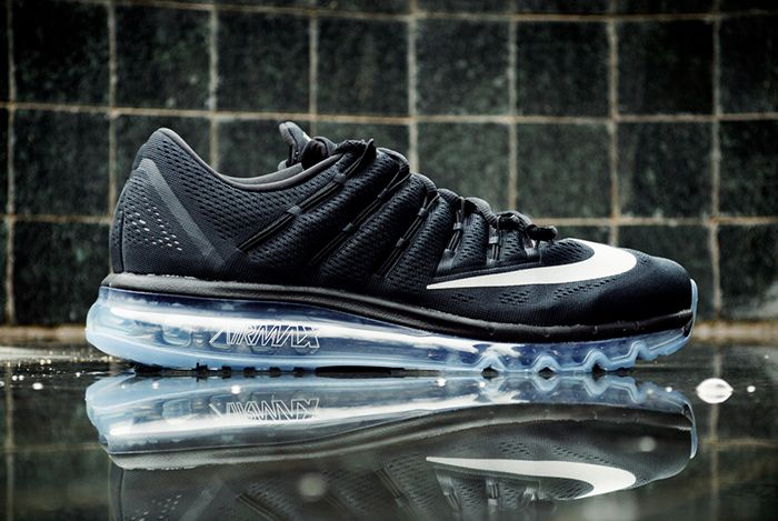 Nike Air Max 2016 Black White 7