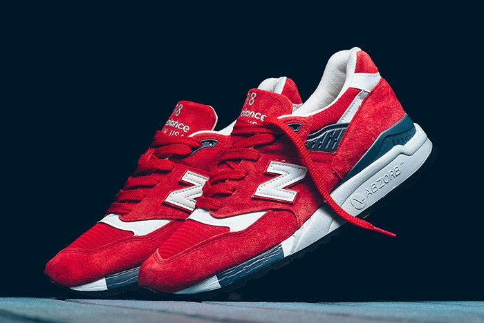 New Balance 998 Made In Usa Red 2