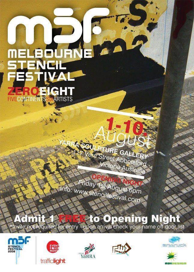 Melbourne Stencil Festival 3