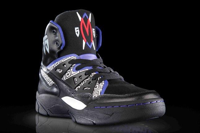 Adidas Mutombo Black Purple 5