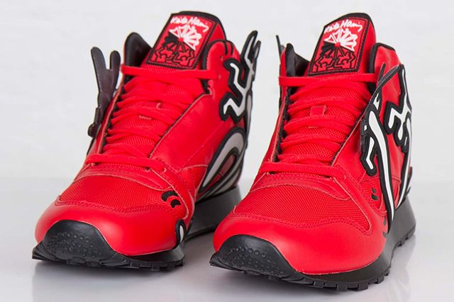 Keith Haring Reebok Classic Leather Mid Lux 3